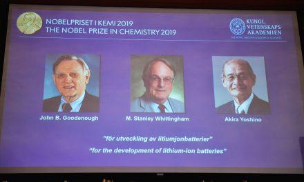 Prêmio Nobel de química vai para os desenvolvedores da bateria de íons de lítios