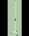 Suporte para Soro, com Rodízio  S-1190-A