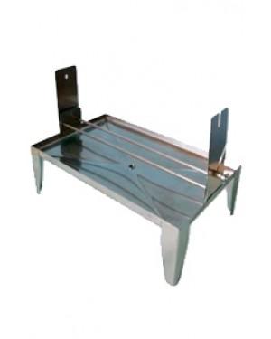 Bandeja Simples em Alumínio para Corar 10 Lâminas RIC006-AL