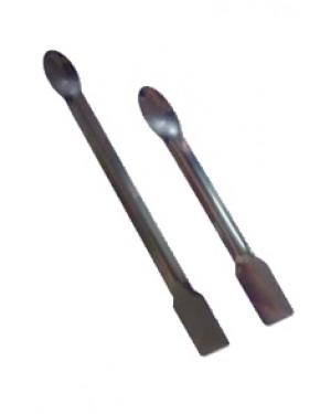 Espátula com Colher em Chapa de Aço Inox - 15cm RIC026-15