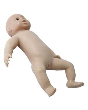 Boneco Bebê Recém-Nascido AVANÇADO com Moleira COL 1409-B Coleman