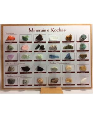 Coleção Minerais E Rochas