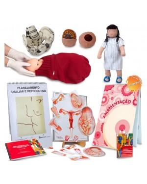 Kit 1 - Saúde - Amamentação, Pré-Natal e Parto K1SAMAM