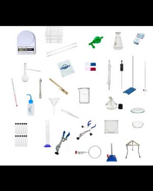 Laboratório básico para Ensino Fundamental 46 peças  KIT LAB 46