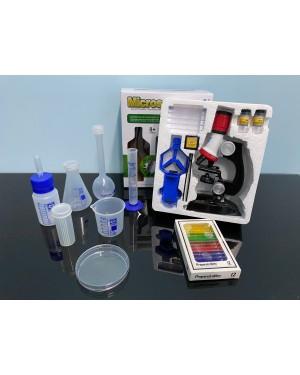 Kit Laboratório Microscópio Educativo Criança