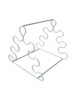 Estante em Arame com PVC para Pipetas Triangular - 6 Pipetas RIC030-06