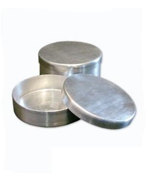 Placa de Petri em Alumínio com Tampa RIC067