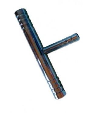 Trompa de Vácuo Simples Cromada RIC085