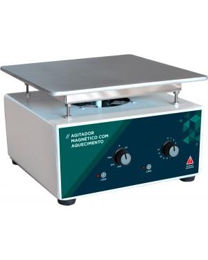 Agitador Magnético Analógico com Aquecimento 10 Litros SSAGa 10L