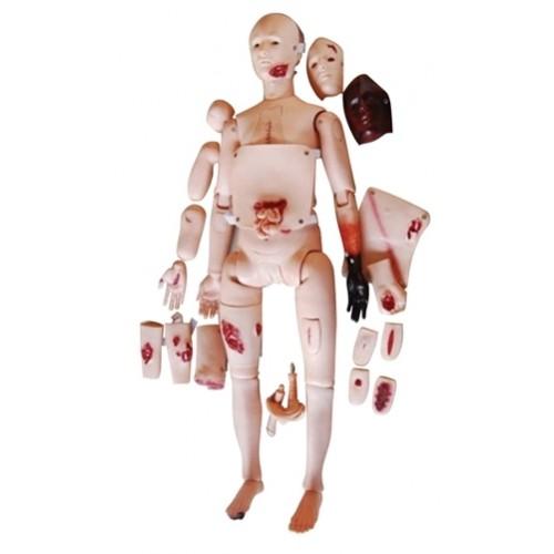 Manequim de Enfermagem com Simulador de Feridas COL 1401-D Coleman