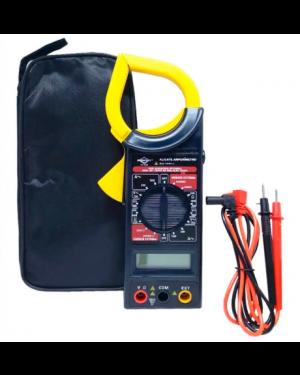 Multímetro Amperímetro Digital Portátil com Estojo 8559