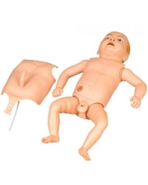 Manequim Bebê bissexual órgãos internos COL 1424 Coleman