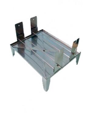 Bandeja Dupla em Alumínio para Corar 20 Lâminas RIC007-AL