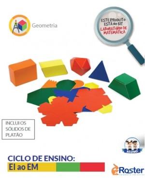 Sólidos Geométricos Planificados 20 Peças A099