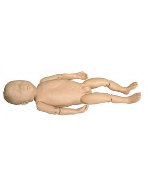 Boneco Bebê Recém-Nascido Soft COL 1409 Coleman