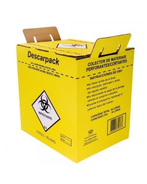 Coletor de Material Perfuro Cortante - Descarpack 7 Litros DC-601138