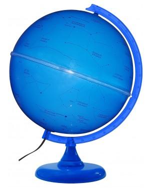 Globo Celeste Cielo 30cm Azul Iluminado com Led Branco GB-12935