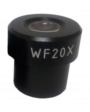 ocular WF 20x para microscópio