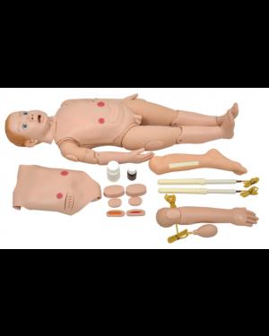 Manequim Bissexual Infantil de 3 a 5 anos C/ Órgãos P/ Treino de Enfermagem  SD-4000/INF