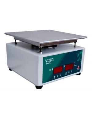 Agitador Magnético Digital com Aquecimento 10 Litros SSAGDa 10L
